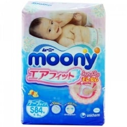 Японские подгузники Moony