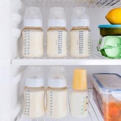 Как, где и сколько можно хранить грудное молоко?